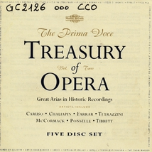 TREASURY OF OPERA, VOL 2