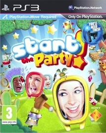 START THE PARTY! (POUR PLAYSTATION MOVE) - PS3