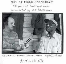 ART OF FIELD RECORDING (SAMPLER CD)