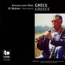 GRÈCE: O SKAROS, MUSIQUES POUR FLÛTES