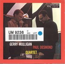GERRY MULLIGAN / PAUL DESMOND QUARTET