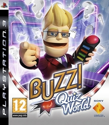BUZZ! QUIZ WORLD + BUZZERS - PS3