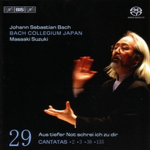 """CANTATE:  38 """"AUF TIEFER NOT..."""" 2,3,135 (VOL.29)"""