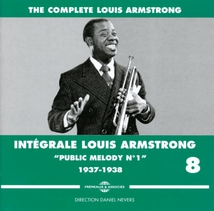 "INTÉGRALE LOUIS ARMSTRONG VOL.8 ""PUBLIC MELODY N.1"" 1937/38"