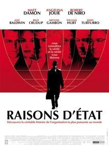RAISONS D'ÉTAT