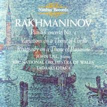 CONCERTO PIANO 4 / VARIATIONS TH.CORELLI / RAPS.TH.PAGANINI
