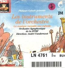 INSTRUMENTS DE L'ORCHESTRE: LA MUSIQUE RACONTEE AUX ENFANTS