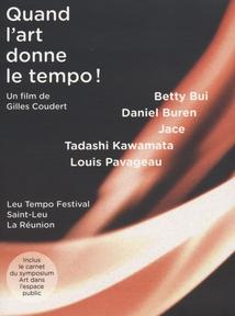 QUAND L'ART DONNE LE TEMPO ! - LIVRE-DVD