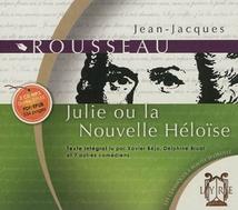 JULIE OU LA NOUVELLE HÉLOÏSE (CD-MP3)