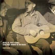 BLUES VS ROCK AND ROLL-ELVIS PAYS TRIBUTE TO THE BLUES