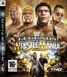 WWE LEGENDS OF WRESTLEMANIA - PS3