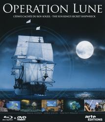 OPÉRATION LUNE, L'ÉPAVE CACHÉE DU ROI-SOLEIL (DVD + Blu-Ray)