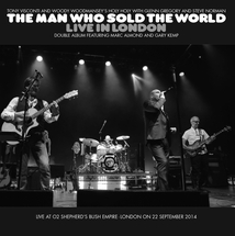 MAN WHO SOLD THE WORLD (LIVE IN LONDON)