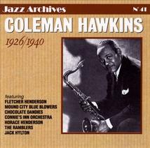 COLEMAN HAWKINS 1926-1940