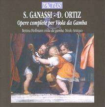 OPERE COMPLETE PER VIOLA DA GAMBA (+ GANASSI)