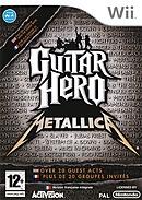 GUITAR HERO III : METALLICA (+ GUITARE) - Wii
