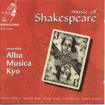 MUSIC OF SHAKESPEARE