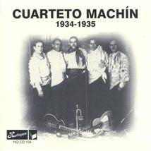 CUARTETO MACHIN 1934-1935
