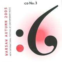 WARSAW AUTUMN 2005 (VOINOVA/ KASPAROV/ SKRZYPCZAK/ BORTNOWSK