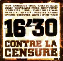 16'30 CONTRE LA CENSURE