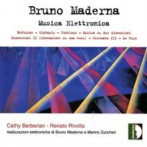 MUSICA ELETTRONICA: NOTTURNO / SYNTAXIS / CONTINUO /...
