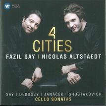 4 CITIES (+ DEBUSSY/ JANACEK/ SHOSTAKOVICH)