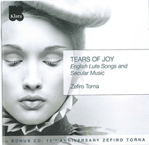 TEARS OF JOY, ENGLISH LUTE SONGS AND SECULAR MUSIC