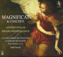 MAGNIFICAT & CONCERTI (+ VIVALDI) (+ DVD)