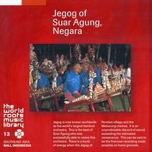 JEGOG OF SUAR AGUNG, NEGARA