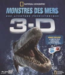 MONSTRES DES MERS 3-D - Blu-Ray