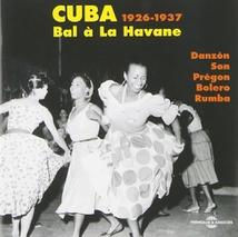 CUBA 1926-1937. BAL À LA HAVANE