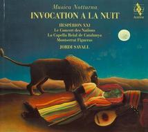 MUSICA NOTTURNA: INVOCATION A LA NUIT