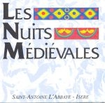 LES NUITS MÉDIÉVALES - SAINT-ANTOINE L'ABBAYE, ISÈRE