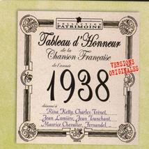 TABLEAU D'HONNEUR DE LA CHANSON FRANCAISE 1938