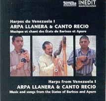 HARPES DU VENEZUELA I: ARPA LLANERA & CANTO RECIO