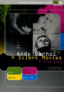 4 SILENT MOVIES - (ANDY WARHOL)