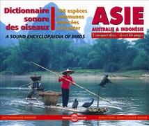 DICTIONNAIRE SONORE DES OISEAUX D'ASIE : 198 ESPÈCES COMMUNE