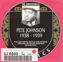 PETE JOHNSON 1938-1939