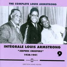 "INTÉGRALE LOUIS ARMSTRONG VOL.9 ""JEEPERS CREEPERS"" 1938-1941"