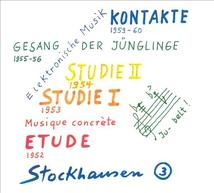 KONTAKTE / GESANG DER JUNGLINGE / STUDIE I & II / ETUDE