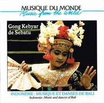 INDONÉSIE: MUSIQUE ET DANSES DE BALI