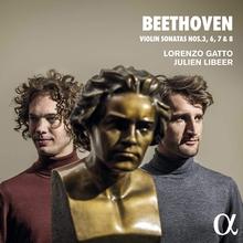 BEETHOVEN - SONATE VIOLON PIANO  3,6,7,8