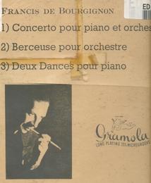CONCERTINO PIANO / BERCEUSE / 2 DANSES