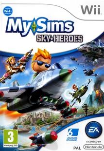 MY SIMS SKY-HEROES - Wii