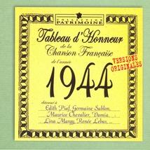 TABLEAU D'HONNEUR DE LA CHANSON FRANCAISE 1944