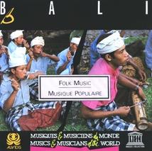 BALI: MUSIQUE POPULAIRE