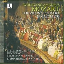 VIENNA CONCERT 23 MARCH 1783