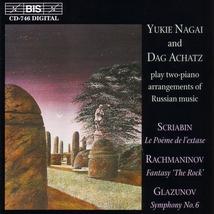 POEME DE L'EXTASE (ARR.2 PIANOS) (+ GLAZOUNOV, RACHMANINOV)