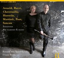 CLARINETTE PIANO - ARNOLD, BACRI, MARTINU, POOT...