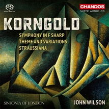 SYMPHONIE OP.40 - THEME & VARIATION OP.43 - STRAUSSIANA